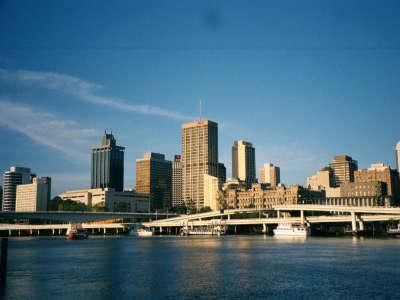 Victoria Bridge And City Centre