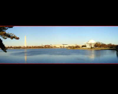 20001122 Washington DC Over Tidal Basin