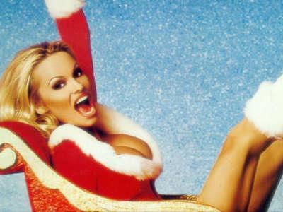 Santa - Pamela Anderson