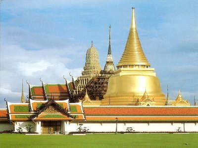 Bangkok, The Temple Stupa