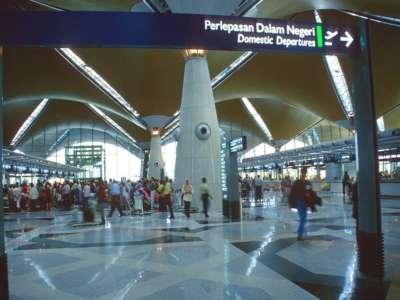 KUL KLIA Kuala Lumpur Airport Main Building Check In Area B