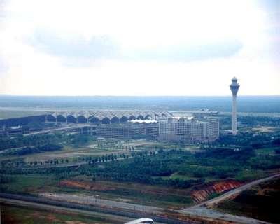 KUL KLIA Kuala Lumpur Airport Train From Aircraft B