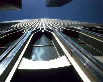 NYC New York World Trade Center Facade Upright B