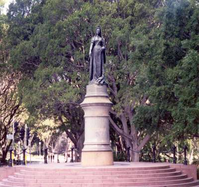Queen Victoria, Hyde Park, Sydney