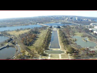 Washington DC From Washington Monument