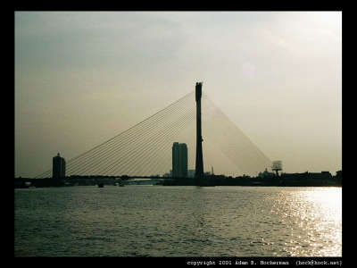Mae Nam Chao Phraya Cable Stay Bridge 2