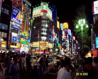 Shinjuku At Midnight1