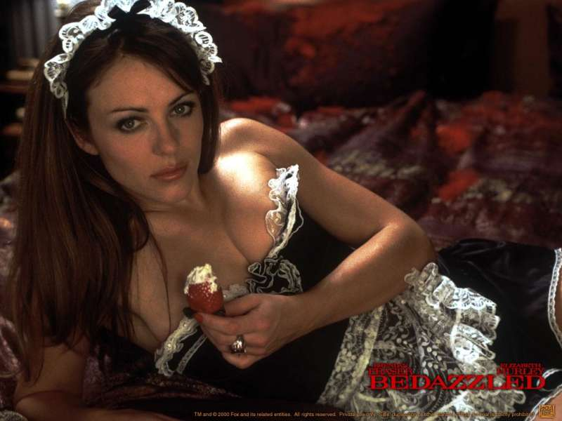 Elizabeth Hurley is a devil in Bedazzled