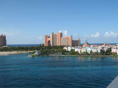 Atlantis Paradise Hotel on Island Bahamas