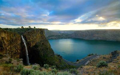 Paradise Falls Lake