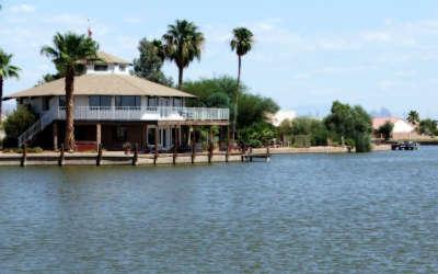 Waterfront Home On Paradise Lake In Arizona City