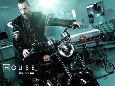 HOUSE on Motorcycle