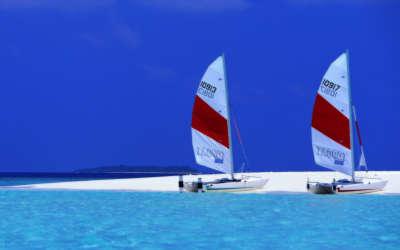 Maldives Paradise Island Beach