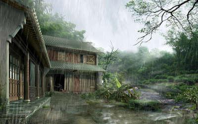 Architecture Rain