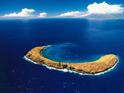 Molokini Crater Maui Hawaiian Islands