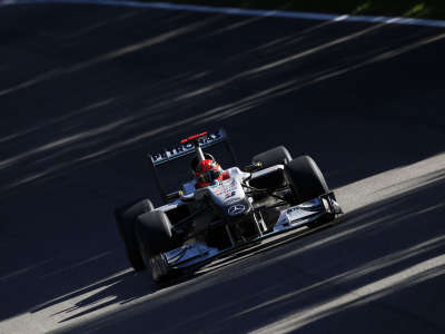 Mercedes Gp Formula1 in Monza