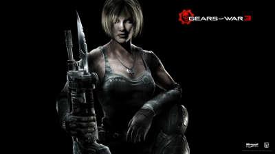 Gears Of War 2 - Portrait Anya