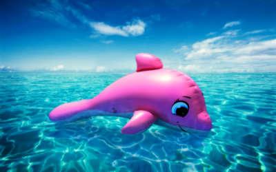 Kids Pool Dolphin