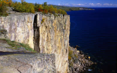 Autumn On Palisade Head in North Shore