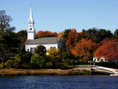Church on Autumn Day