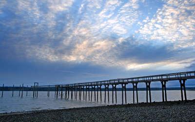 Joemma Beach and Bridge