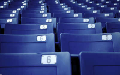 Chairs on Stadium