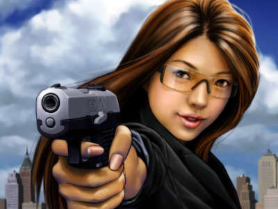 Girl with Weapon