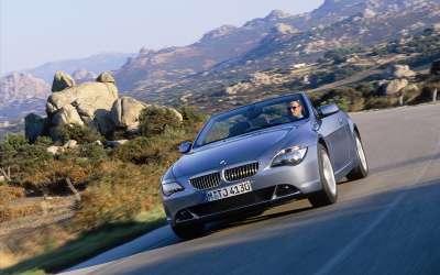 BMW 645 cabrio