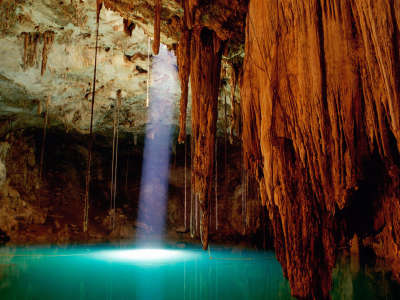 Cave in Mexico