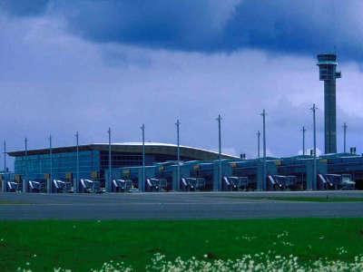 Airport Oslo Terminal Airside