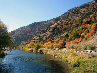 Autumn, River