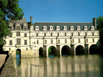 French Castle Chenonceau