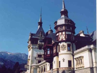 Peles Castle Of King Carol I In Sinaia
