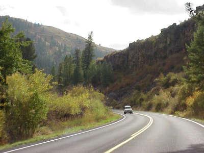Highway in Hills