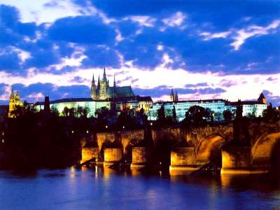 Prague Castle Beauuuutiful Sunset 2