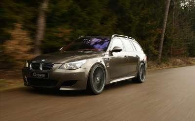 2 G Power BMW M5 E61 Touring Widescreen 01