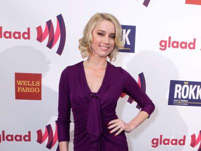 Amber Heard Annual Glaad Media Awards