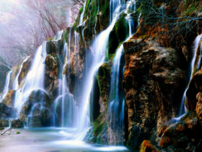 Waterfall Rocks