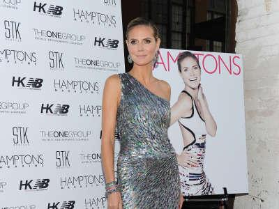 Heidi Klum In Hamptons Magazine