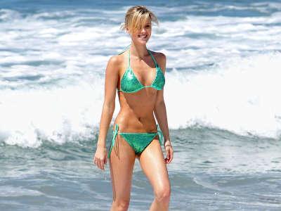 Sasha Jackson In Swimsuit