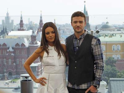 Mila Kunis And Justin Timberlake