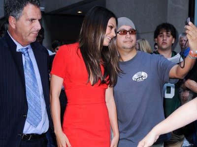 Mila Kunis In New York