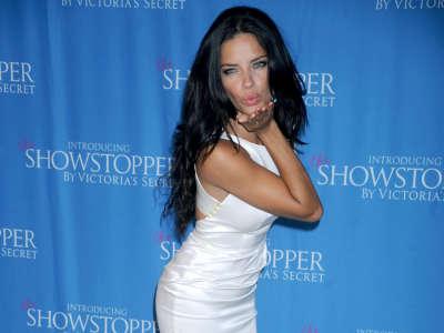 Adriana Lima Victorias Secret In NYC