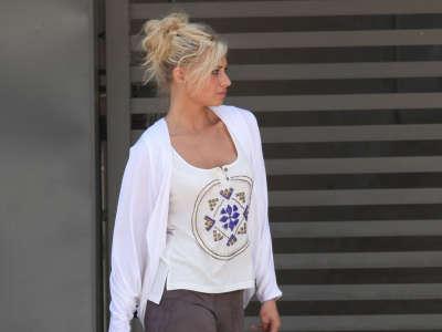 Alyson Michalka In Hollywood