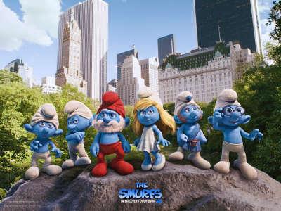 Smurfs Rock