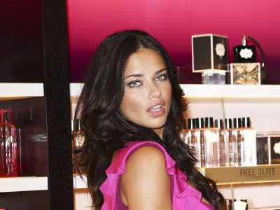Adriana Lima At Fashion Night
