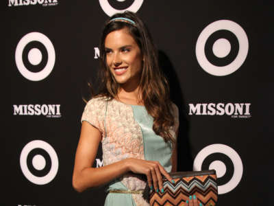 Alessandra Ambrosio In Target Store