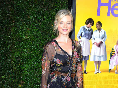 Amy Smart The Help Premiere