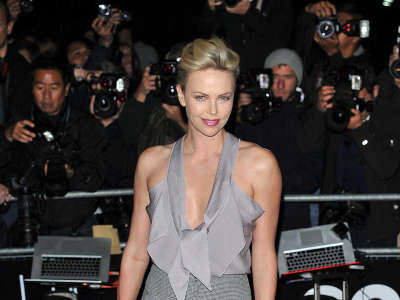 Charlize Theron At The Royal Opera House