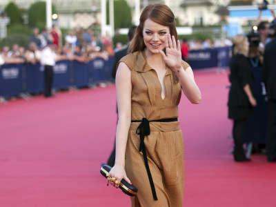 Emma Stone At American Film Festival